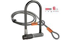 sporting-goods: Kryptonite KryptoLok Series 2 Standard Bike U-Lock w/ 4 Ft. Flex Cable & Bracket - Kryptonite KryptoLok Series 2 Standard Bike U-Lock w/ 4 Ft. Pimp Your Bike, Bicycle Lock, Cable, Lock Up, Bike Chain, Bicycle Accessories, Cycling Equipment, Cool Bikes, Ebay