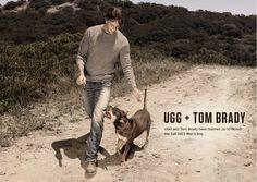 tom brady, uggs, and man's best friend