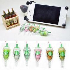 6 pcs (whole set) StarBucks Frappuccino, Milk Cell Phone Charm 3.5mm Anti Dust Earphone Jack Plug iphone 4 4S Best2buy365,http://www.amazon.com/dp/B008MQKWC0/ref=cm_sw_r_pi_dp_jkKLsb12CDMC984X