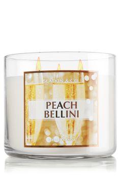 Peach Bellini 14.5 oz. 3-Wick Candle - Slatkin & Co. - Bath & Body Works