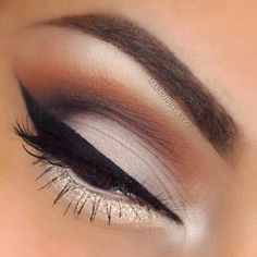 #smokeyeye #browneyes #eyeliner #eyeshadow #eyebrows #beauty