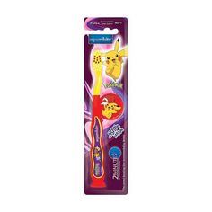 Presenting aquawhite Jiggle Wiggle Toothbrush. aquawhite is the exclusive official license holder of  POKEMON character. Multi- Coloured toothbrush is interesting, unique and fun for the kids and their favourite character on the brush will prompt them to brush 2 times every day thus giving Mothers a hassle free morning & night.