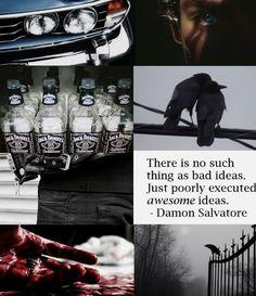 Damon Salvatore aesthetic