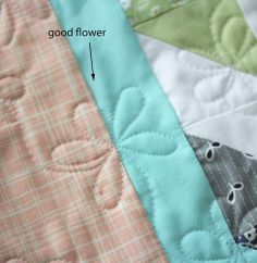 Tutorial for quilting a flower pattern. Nice! from Cluck Cluck Sew