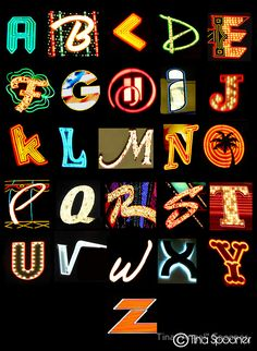 Las Vegas Alphabet