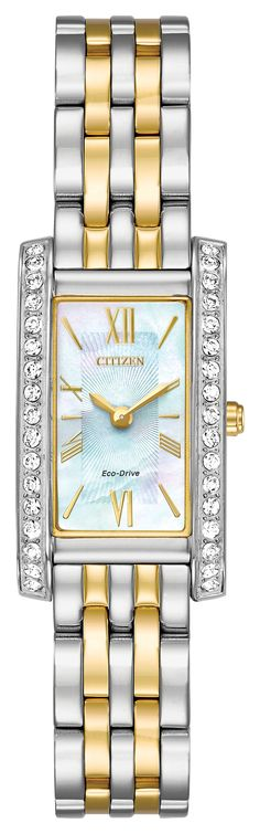 I like the band and the row of diamonds on each side of the watch face 900ce4a65c4