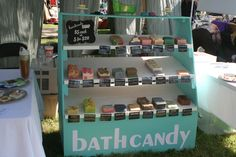 Art in the Park is an annual art and music festival in Friendswood, Texas. It is anincredible community event filled with great artists, performers, and entertainment. Bath Candy set up shop at th…