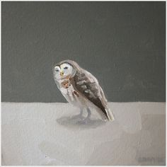 Owl Painting by Elizabeth Mayville