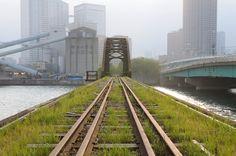 Tokyo Port Authority leased line waste line trace ~ ~ Harumi bridges 晴海橋梁