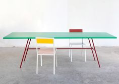 "Furniture and lighting collection that ""oozes a sort of fruitiness""."