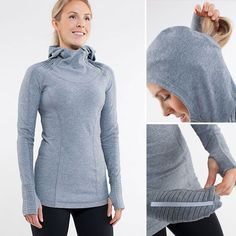 After indulging for the last two weeks, it is time to get back on track, and this running hoodie, appropriately named Back On Track Pullover ($108) from Lululemon, is just the motivation I need to get out and get running. It's stylish, warm, and full of details to inspire the miles: a hood with ponytail opening, breathable mesh under the arms where you will sweat even in cold temps, and cute details at the wrist highlighting the thumbholes. The pullover has a zippered stash pocket and an…