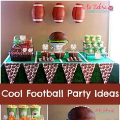 17 Amazing Super Bowl Party Decorating Ideas