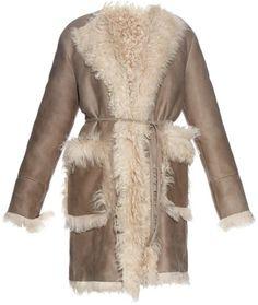Tomas Maier Reversible shearling coat