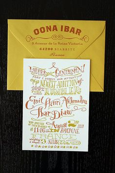 Letterpressed Baby Announcements | Flickr - Photo Sharing!