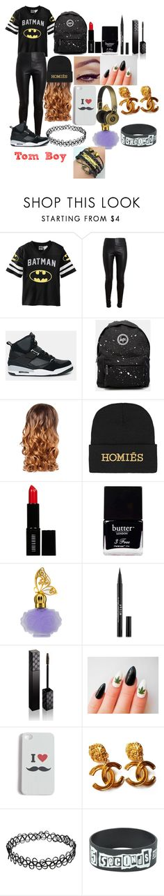 """""""Tom Boy 2"""" by rosie443 on Polyvore featuring Balenciaga, Jordan Brand, Hype, Lipsy, Brian Lichtenberg, Lord & Berry, Butter London, Anna Sui, M&S and Gucci"""