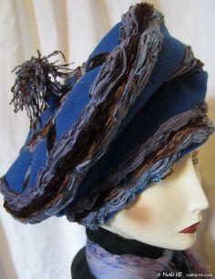 bonnet hiver grand froid style Mongole laine par MatheHBcouture