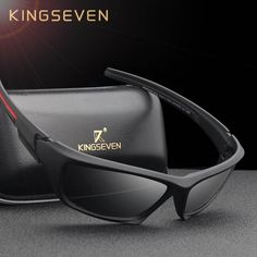 909133728a KINGSEVEN Fashion Polarized Sunglasses Men Luxury Brand Designer Vintage  Driving Sun Glasses Male Goggles Shadow UV400