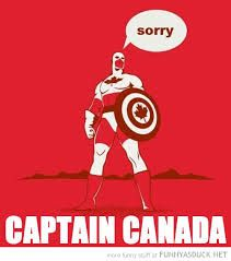 Captain Canada - this makes me laugh, a?