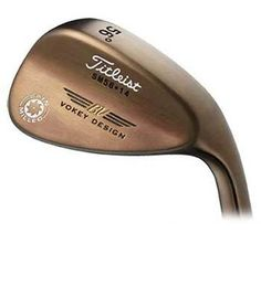 Titleist Vokey wedge with oil can finish - 56° or 58°