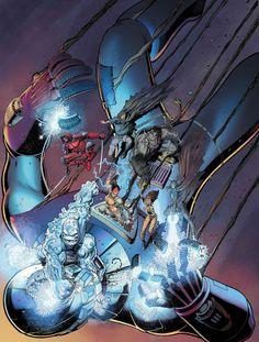 X-Men: Battle of the Atom - Art Adams