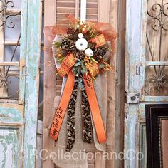 Fall Wreath, Fall Bow, Deco Mesh Bow, Fall Decor, Door Decor by RcollectionandCo on Etsy https://www.etsy.com/listing/467237686/fall-wreath-fall-bow-deco-mesh-bow-fall
