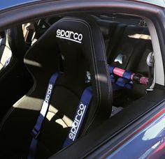 If anyone wants to know what seat this is, its the SPARCO CHRONO ROAD SEAT.sadly I spent the time researching for what seat this is cause it looks so comfortable! Nissan Almera, Inside Car, Scion Frs, Racing Seats, Ride Or Die, Sweet Cars, Car Tuning, Impreza, Car Stuff