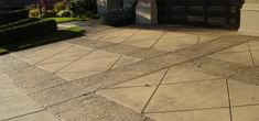 Or like this Stamped concrete driveway...
