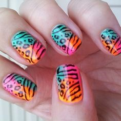 these are so awesome  I want these nails so bad