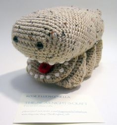 Amigurumi Freckled Woola the Calot plush toy
