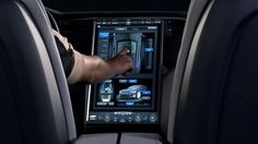 Introducing the world's most advanced vehicle user interface - the Tesla Model S touchscreen display. Take a look inside the master control of Motor Trend's… Tesla S, Tesla Motors, 2013 Tesla Model S, All Electric Cars, Win Car, Car Ui, Car Experience, Console, Limousine