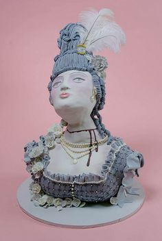 Cake Artist Shinmin Li : Cakes - Statues / Sculptures on Pinterest Creative Cakes ...