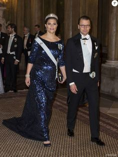 Royals & Fashion - The royal family of Sweden held a dinner in honor of Nobel Prize winners at the Royal Palace in Stockholm.