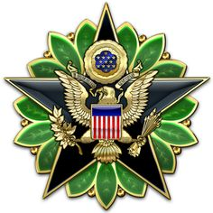 Military Insignia 3D : U.S. Joint Chiefs of Staff, General Staff & Army Staff Insignia