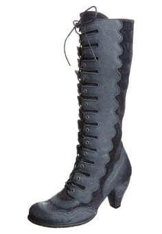 Dkode  CLARICE - Lace-up boots - blue