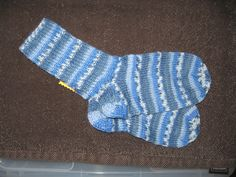 Handgestrickte Socken Gr. 28/29 von Heike`s Zauberwerkstatt auf DaWanda.com