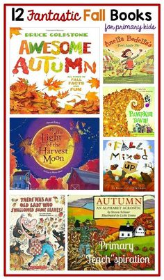 A collection of 12 Fantastic Fall books that can inspire learning.