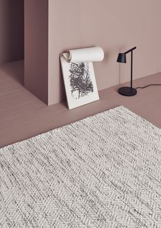 Linie Design Nyoko -matto, 200 x 300 cm Harlequin Pattern, Nordic Living, Rug Company, Rectangular Rugs, White Rug, Nordic Design, Danish Design, Handmade Rugs, Interior Inspiration