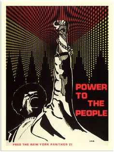black panther party paper   AP938 - Power To The People, Black Panther Poster 1970 (30x40cm Art ...