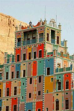 Buqshan Hotel in Khalia, Yemen.