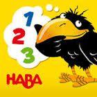Haba le corbeau qui raconte : pour découvrir les chiffres en s'amusanr petits jeux, différentes langues 2+