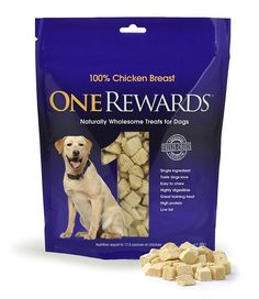 One Rewards Chicken Breast Freeze Dried Dog Treats, 20-Ounce *** Awesome product. Click the image (This is an amazon affiliate link. I may earn commission from it)