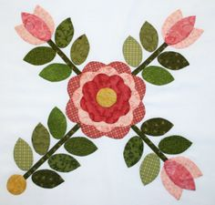 Block 1 Sycamore Rose Block of the Month