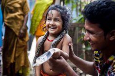 Bangladesh: School Feeding Encourages Nomadic Children To Attend Class