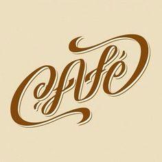 Cafe ambigram