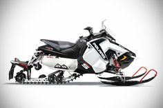 2015 AXYS-based Polaris Snowmobiles - shown here is the 2015 AXYS-based Polaris 600 Rush Pro S