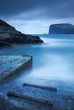 The Witch's Steps, Streymoy, Faroe Islands.  Photo: Adam Burton