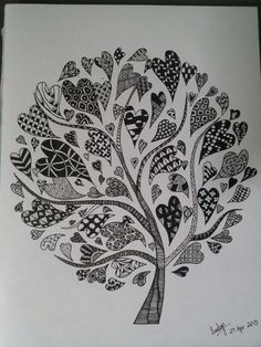 zentangle trees - Google Search