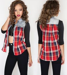 plaid is always a great pattern to incorporate in your everyday outfit!