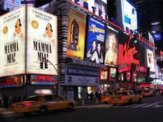 New York City -another thing to do on my bucket list go to New York do some shopping and see a Broadway show.