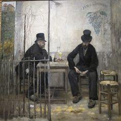 Buveurs dAbsinthe ou Les Déclassés (1881), Jean-François Raffaëlli by Yvette Gauthier, via Flickr